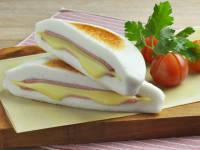 はんぺんのはさみ焼き(ハム&チーズ)