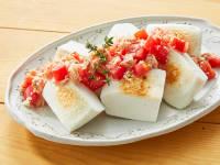 はんぺんのツナトマトがけのレシピ
