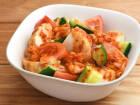 魚河岸あげのキムチサラダ(トマト)