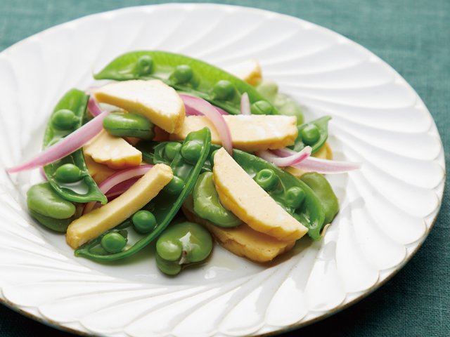 魚河岸あげ®たまごと豆野菜のサラダ