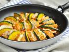 魚河岸あげ®とかぼちゃの豚バラ重ね焼きのレシピ