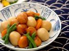 揚ボールと里芋のコロコロ煮