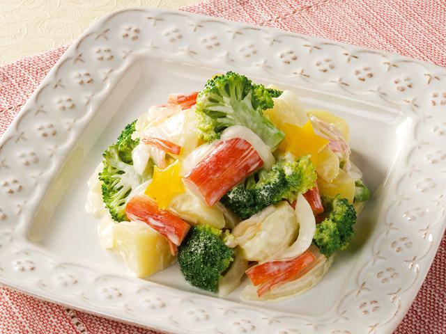 マリーンとブロッコリーのサラダ
