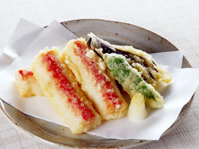 個包装サラダしたらばの天ぷら