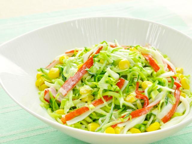 マリーンとキャベツのサラダ