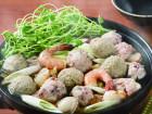 鶏と魚介たっぷり寄せ鍋