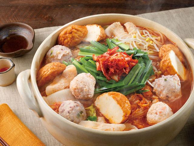 コクがあっておいしい!海鮮団子のキムチ鍋のレシピ つみれ・鍋