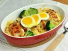 肉餃子のミートドリア風のレシピ