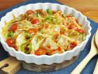 肉餃子のケチャップトースター焼きのレシピ