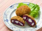 堀知佐子さんの紫芋とはんぺんのコロッケ