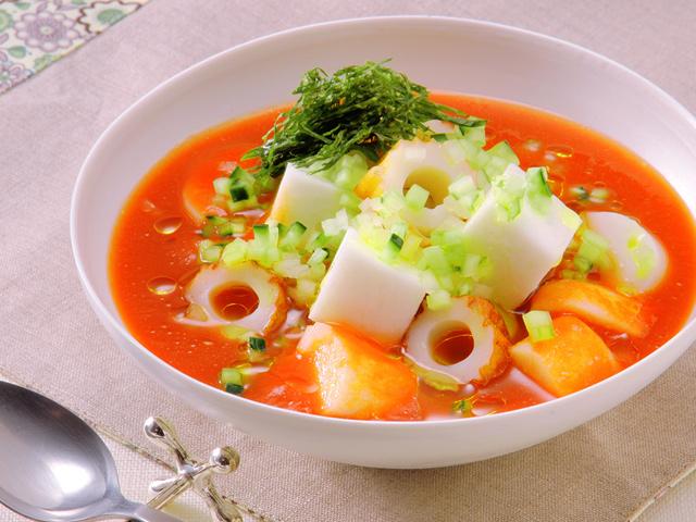 冷製トマトスープおでん