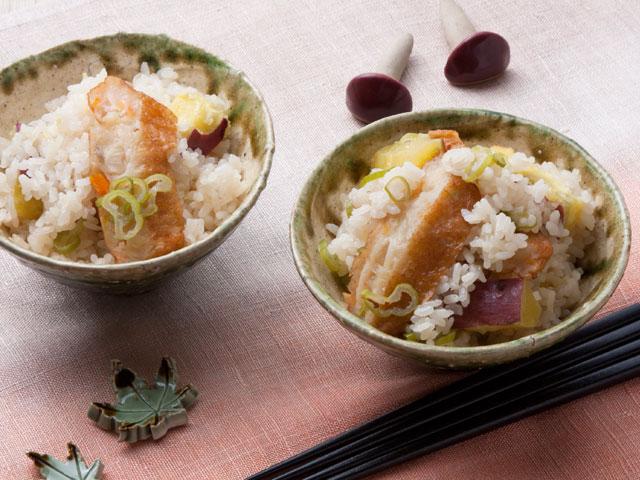 野﨑総料理長のダブルさつまご飯