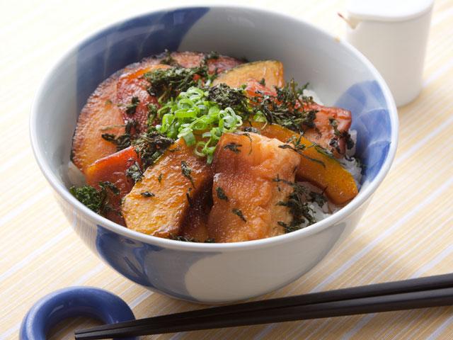 野崎総料理長のはんぺんの鍋照り焼き丼