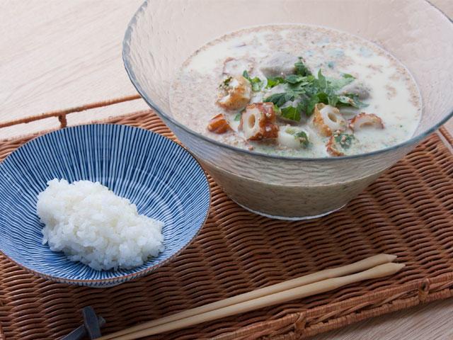 野崎総料理長の豆乳冷や汁