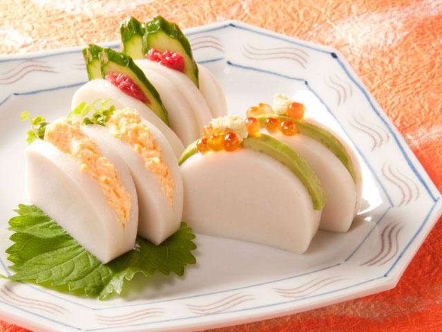 今泉久美さんの蒲鉾サンド