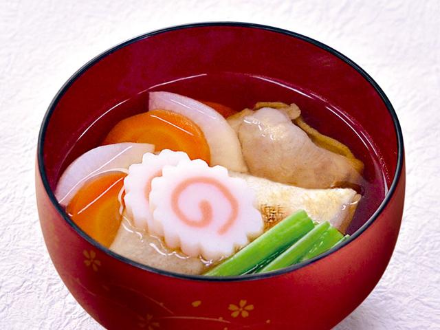 おでん汁の素で作る関東風雑煮