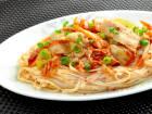 糖質0g麺の和風豚キムチ 【糖質:7.2g】
