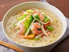 糖質0g麺の野菜たっぷりタンメン風