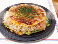 糖質0g麺の広島焼き風