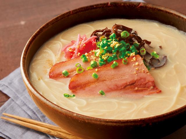 糖質0g麺の豚骨ラーメン風
