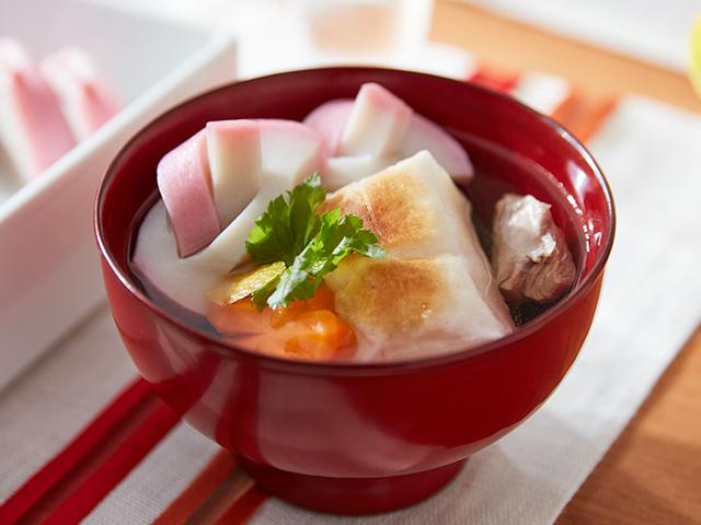 きほんの関東風雑煮
