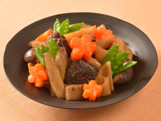 今泉久美さんの基本のおせち(根菜の煮物)